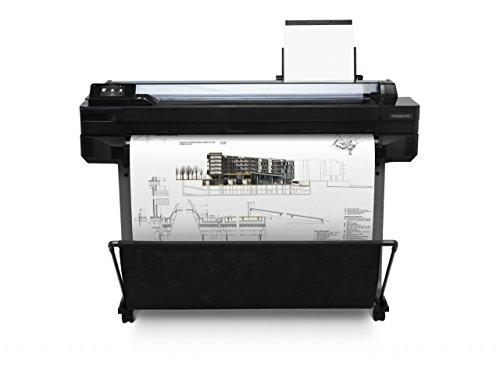 HP Designjet T520 36' - Impresora de Gran Formato (9.1 Min, 11.4 Min, 2400 x 1200 dpi, HP-GL/2, HP-RTL, PCL 3, 36', 1,16 cm)