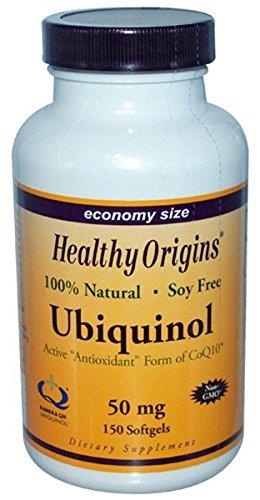 Healthy Origins, CoQ10 Ubiquinol ( Kaneka QH ), 50mg, 150 Weichkapseln