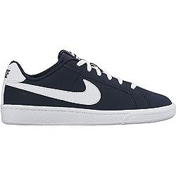 Nike Court Royale GS, Zapatillas de Tenis Para Niños, Azul (Obsidian/White), 36.5 EU