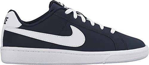 Nike Herren Court Royale (GS) Turnschuhe, Azul (Obsidian/White), 39 EU (Wildleder Boys Turnschuhe)