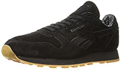 Reebok Classic Leather TDC Fashion Sneaker Black/White Gum 6 D(M) US