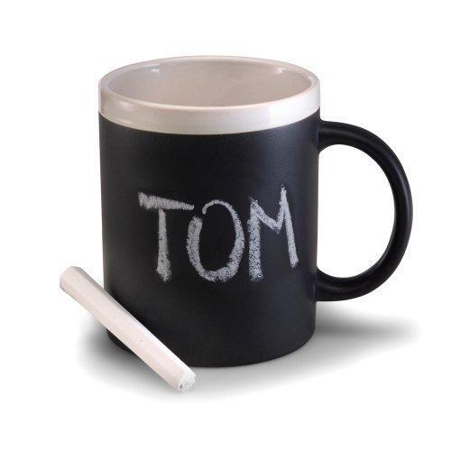 Koopman International, Tasse zum Beschriften mit Kreide, TR-Q51500000, Chalk Mug - Keramik-message Board