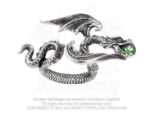 Dragon Starchaser Anello Q-T R190 Alchemy Gothic Jewellery