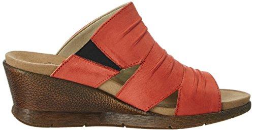 Romika Damen Nevis 02 Pantoletten Rot (Rot)