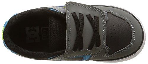 DC Shoes Pure V, Chaussures Premiers pas fille Gris (Black/Armor/Turquois)