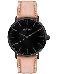 s.Oliver Damen-Armbanduhr Analog Quarz SO-3203-LQ