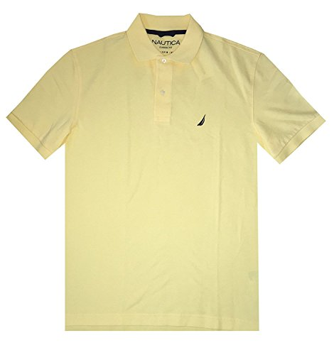Classic Fit Polo T-shirt (Nautica Men Classic Fit Polo Pique T-Shirt)