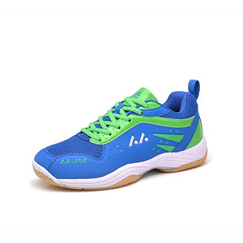 Hy Männer Fußball Schuhe PU/Frühjahr / Herbst Komfort Sneakers/Badminton Schuhe/Laufschuhe / Bike Anti-Slip, Anti-Shake/Dämpfung, Belüftung (Farbe : C, Größe : 42)