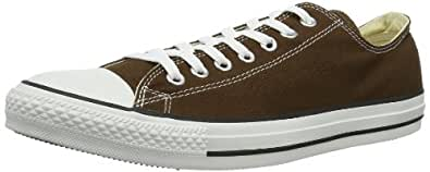 Converse  AS Ox Can Chocolate/White Low Top Unisex-Adult  Chocolate/White  35 EU(3 UK)