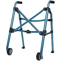 Yxsd andador portátil de la polea del Caminante Ancianos Que Caminan Andador levemente deshabilitado Plegable Plegable