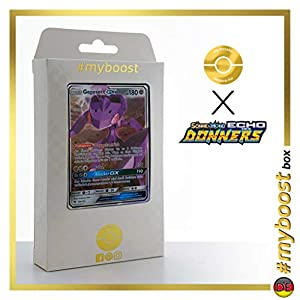 Genesect-GX 130/214 - #myboost X Sonne & Mond 8 Echo Des Donners - Box de 10 Cartas Pokémon Alemán