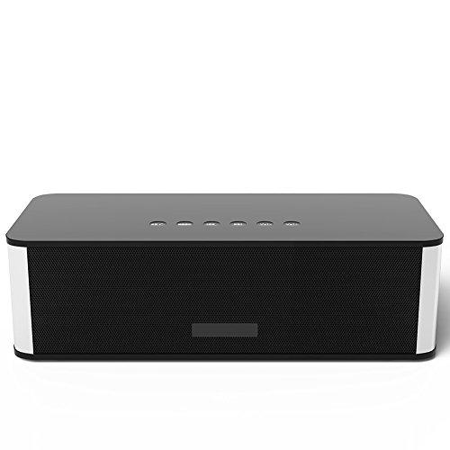 Wireless Bluetooth Lautsprecher, TKSTAR tragbar Stereo FM Radio Lautsprecher, Dual-Driver Wireless Bluetooth Lautsprecher mit HD Sound Unterstützung USB HOST & Micro SD Kartenpaar mit allen Bluetooth Geräten DY21