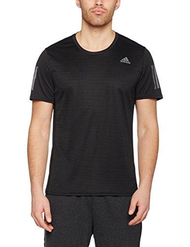 Adidas Running-shirt (adidas Herren Response T-Shirt, Black, XL)