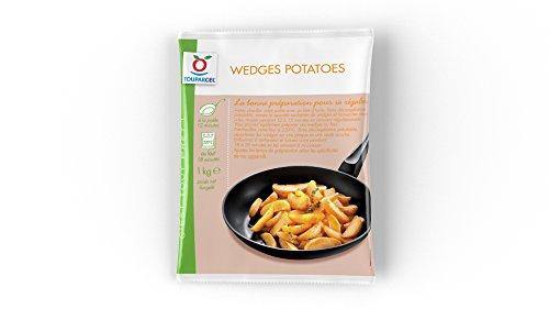 TOUPARGEL - Wedges potatoes - 1 kg - Surgelé