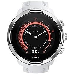 Suunto 9 Baro Reloj Multideporte GPS, Unisex, Blanco, 24.5 cm