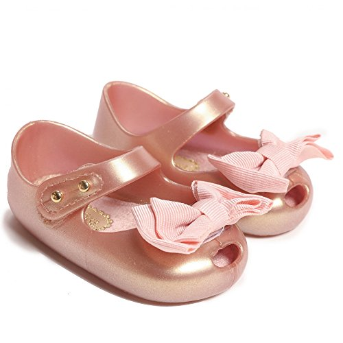 Melissa Shoes My First Mini Melissa 17 Pink Pearl (Jelly Melissa Shoes)
