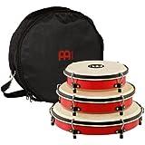 Meinl Percussion PL-SET Plenera Set, 3-teilig ( 20,32 cm (8 Zoll) Quinto, 25,4 cm (10 Zoll) Seguidor, 30,48 cm (12 Zoll) Tumbador), inkl. Nylontasche