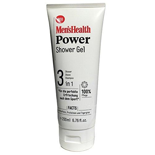 Shave Gel-tube (Men s Health Power Shower Gel 3in1 (200ml Tube))