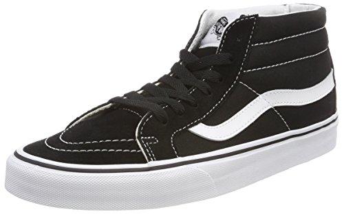 Vans Unisex-Erwachsene Sk8-mid Reissue Hohe Sneaker, Schwarz (Black/True White 6bt), 37 EU Mid Sneaker