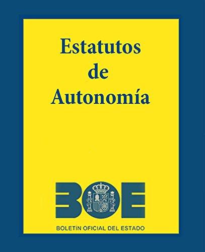Estatutos de Autonomia: 2017 por Varios  Autores