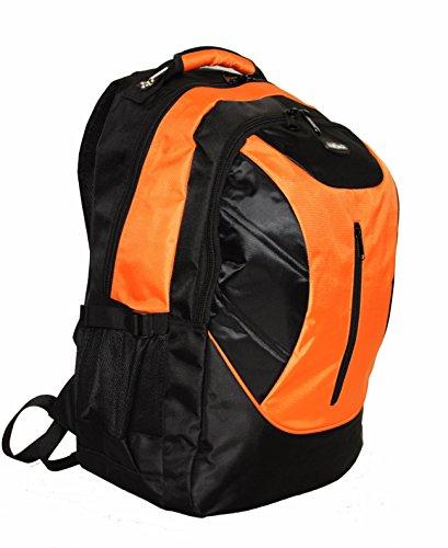 Hohe Qualität 43,2cm oder 48,3cm Laptop Kabine Zugelassen Rucksack Kabine Flight Tasche Reisetasche Rucksack Ryanair Handgepäck - 19 Inch Orange