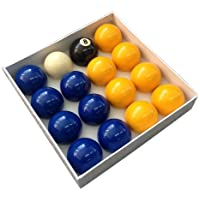 Competition English Pool Balls - 2 Blues and Yellows by Competition