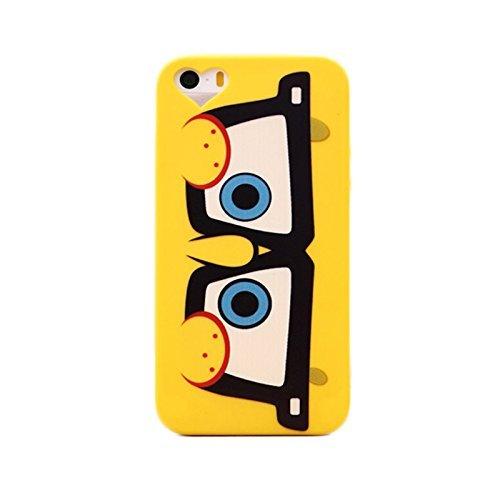 """iphone 6 plus Hülle ,iPhone 6s plus Hülle Koala group SpongeBob Hülle für wird als \""""ein neues Muster der Liebe SpongeBob Schwammkopf\"""" ---Brille"""