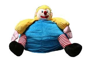 """Kinzler K-11264/99 Kindersitzsack """"Clown"""" 60x80 cm, bunt"""