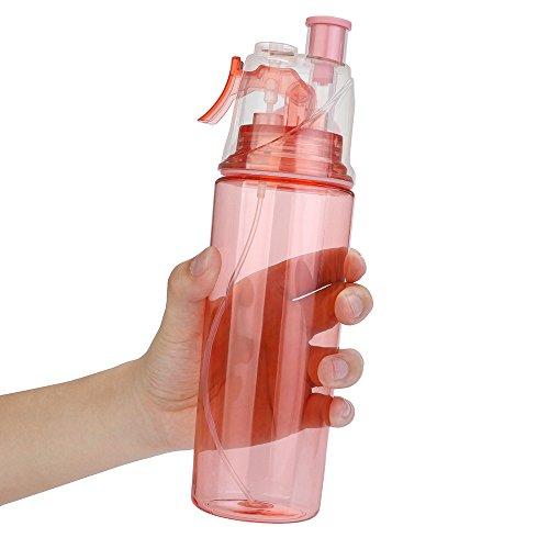 Sprühflasche Kühlflasche Radfahren Nebel Wasser Gym Strand Flasche Auslaufsicher Kreatives Getränk Reisen Büro Becher Einzigartiges Geschenk B ()