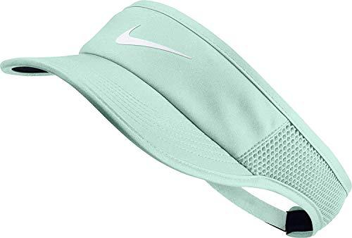 Nike Women's Featherlight AeroBill Visor (Igloo/Black/White)