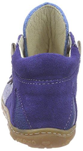 Ricosta Asky, Derbies à lacets mixte enfant Bleu - Blau (indaco 154)