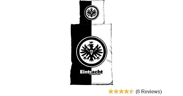 Eintracht Frankfurt Bettwäsche Kontrast Amazonde Sport Freizeit