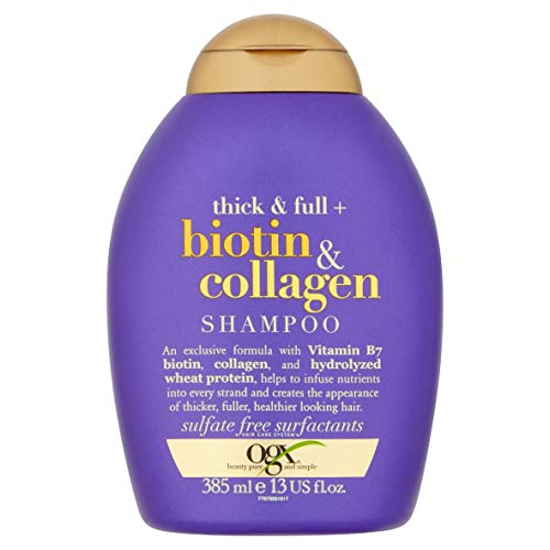 OGX Thick & Full Biotin & Collagen Shampoo, 1er Pack (1 x 385 ml)