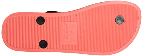 Ipanema Anatomica Soft, Tongs Femme Mehrfarbig (red/black)
