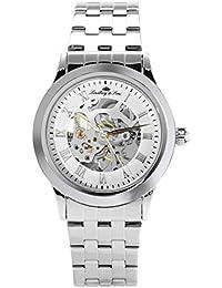 Lindberg & Sons – Reloj de pulsera automático para hombre Analog Reloj Esqueleto Acero Inoxidable – chp187