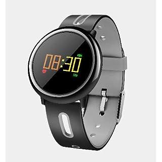 VANSENG W1 Smart Bluetooth Armband Sehen Intelligente Uhr LED Anzeige IP67 Wasserdicht Silikonband Für iOS und Android-System (Grau)