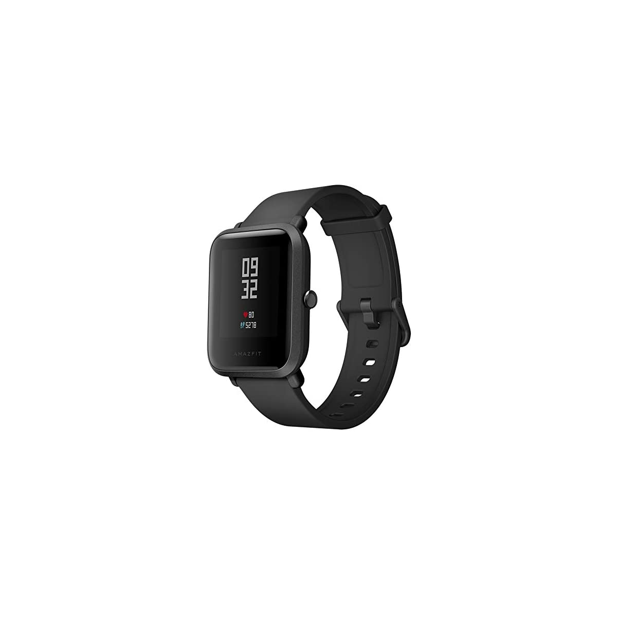 41AoWPJnnJL. SS1200  - EdwayBuy Smartwatch, Amazfit Bip Relojes Deportivos con GPS Bluetooth IP68 a Prueba de Agua Pantalla Táctil Monitor de Frecuencia Cardíaca 45 Días Batería Ultra Larga Vida Versión Global Negro