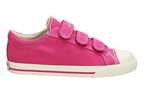 Clarks Gracie Lass en toile pour chaussures Rose - rose