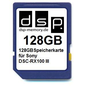 Preisvergleich Produktbild DSP Memory Z-4051557426276 128GB Speicherkarte für Sony DSC-RX100 III