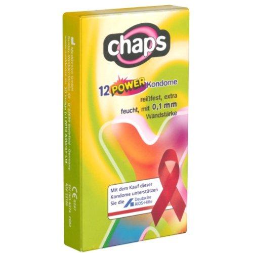 Chaps Power 12 starke, reißfeste Kondome