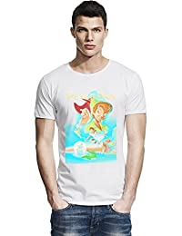 peter pan poster Raw Edge T-shirt
