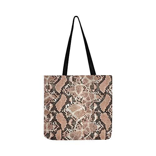 Verschiedene schlangenhaut leinwand tote handtasche umhängetasche crossbody taschen geldbörsen für männer und frauen einkaufen tote -