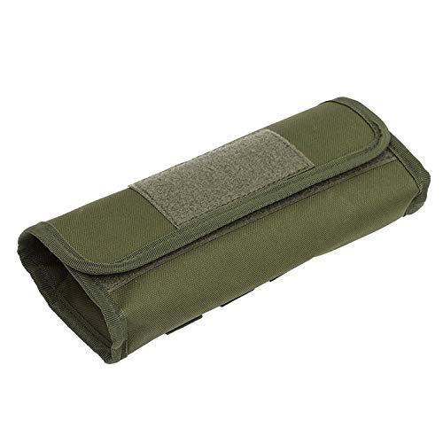18 cartuchos redondos de calibre 12/20 para pistola, bolsa de munición para caza o tiro, color Verde, talla Talla única