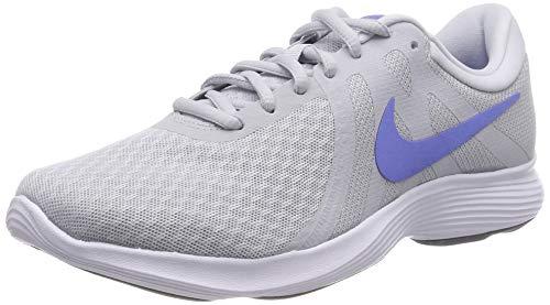sports shoes 64b93 d6008 Nike Women s WMNS Revolution 4 EU Running Shoes, Grigio (Pure  Platinum Royal Pulse