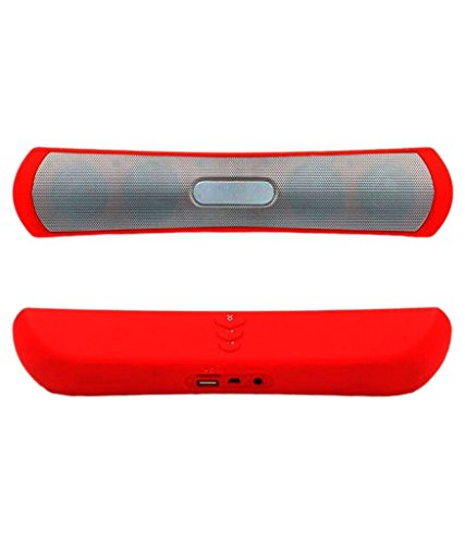 Panasonic Lumix DMC-CM1 Compatible Wireless Bluetooth Speaker (BE-13)/Portable Audio Player Play FM Radio, audio Certified Wireless Bluetooth Speaker - (RED) by Mobilefit  available at amazon for Rs.799
