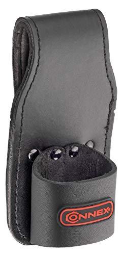 Connex Hammerhalter - Komfortabler Lederhalter - Mit Gürtelschlaufe - Aus Leder - Robust & Langlebig/Werkzeughalter für den Gürtel/Holster für Hammer/Hammerschlaufe / COX610805 -