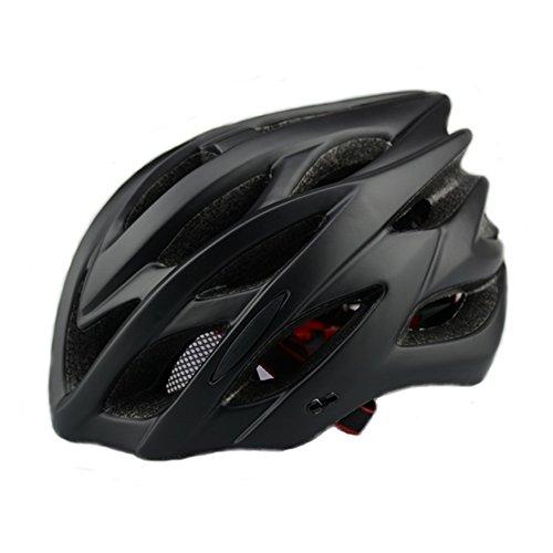 6 x colores - Scott ciclo casco con luz de seguridad, adultos hombres