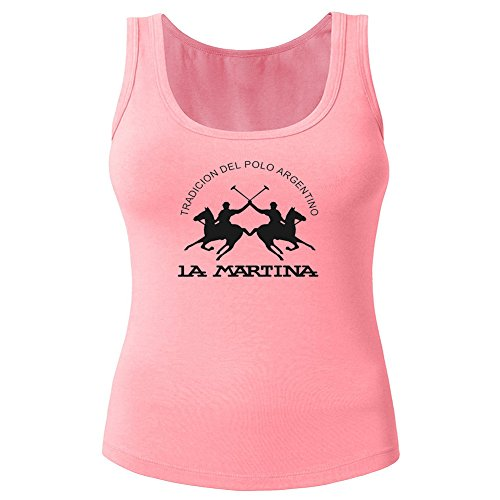 La Martina 2016 For Women's Printed Tanks Tops Sleeveless T-shirts -