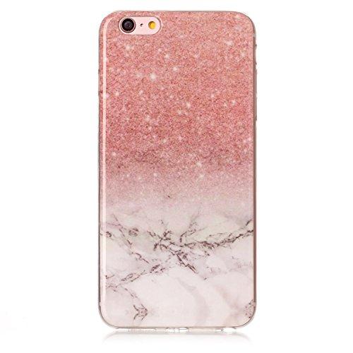 Ecoway Funda para Apple iPhone 6/6S(4.7 Zoll),TPU case Antideslizante Suave Parachoques Resistente a los arañazos Contraportada Funda de silicona Parachoques Carcasa Funda Bumper - Pattern 2