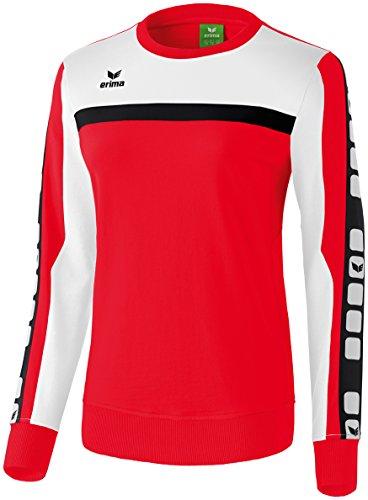 CLASSIC 5-CUBES Sweatshirt Rot/Weiß/Schwarz